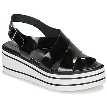 Shoes Women Sandals André ELVIA Black