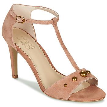 Shoes Women Sandals André LA DOMPTEUSE Pink