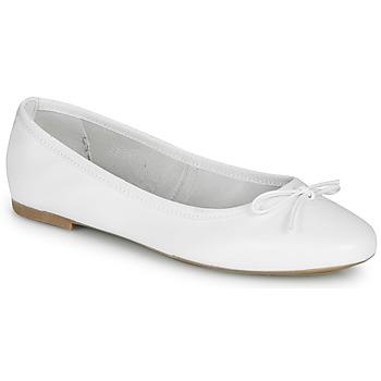 Shoes Women Flat shoes André PIETRA White