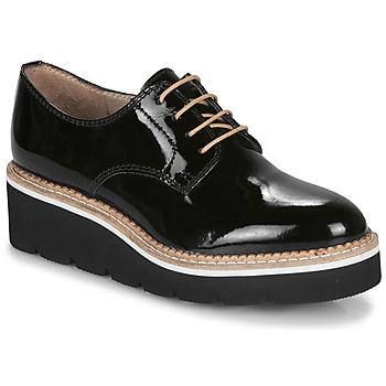 Shoes Women Derby Shoes André EMELINA Black / Varnish