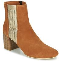 Shoes Women Ankle boots André BONNIE Camel