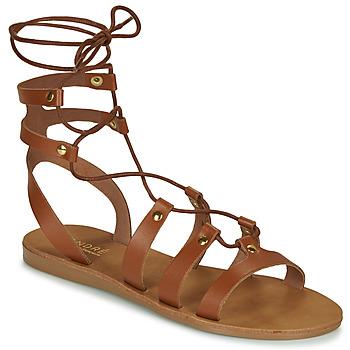 Shoes Women Sandals André BEA Camel