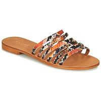Shoes Women Sandals André BRAIDINE Orange