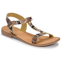 Shoes Women Sandals André DOMINOU Beige