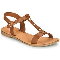 Shoes Women Sandals André DOMINOU Camel