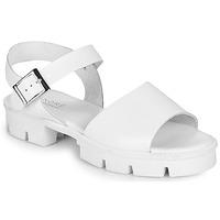 Shoes Women Sandals André ABRICOT White