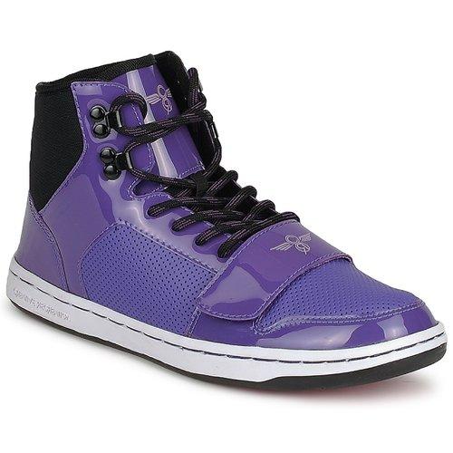 Shoes Women Hi top trainers Creative Recreation W CESARIO Purple