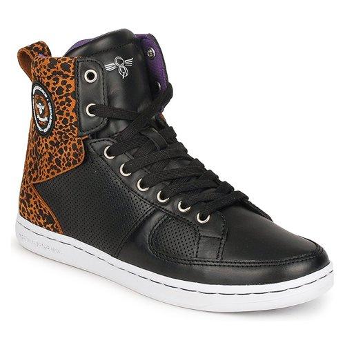 Shoes Women Hi top trainers Creative Recreation W SOLANO Black