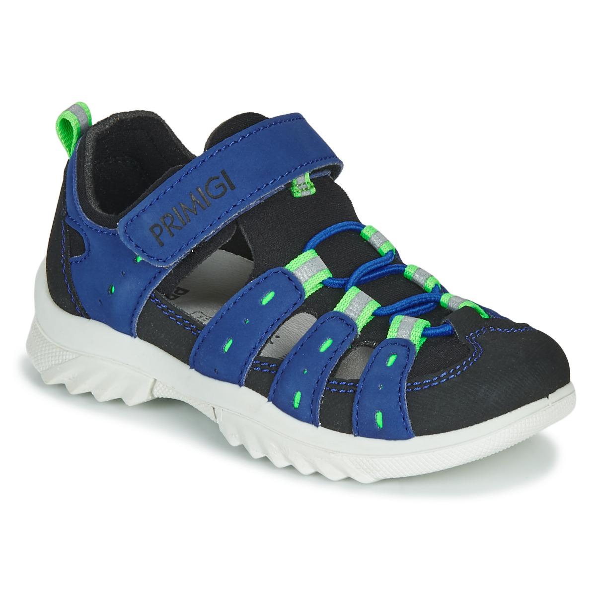 Comedia de enredo Esperar Prever  Primigi 5371822 Blue / Black - Free Delivery with Rubbersole.co.uk ! -  Shoes Sandals Child £ 53.54