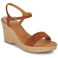 Shoes Women Sandals Unisa RITA Brown