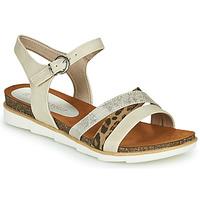 Shoes Women Sandals Marco Tozzi  Beige
