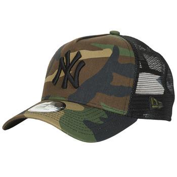 Clothes accessories Caps New-Era CLEAN TRUCKER NEW YORK YANKEES Camouflage / Kaki