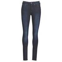 Clothing Women Skinny jeans G-Star Raw 3301 HIGH SKINNY WMN Dk / Aged
