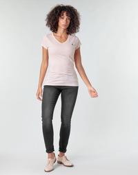 Clothing Women Skinny jeans G-Star Raw LYNN MID SKINNY WMN Grey