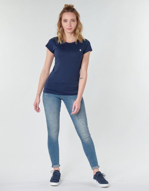 Clothing Women Skinny jeans G-Star Raw MIDGE ZIP MID SKINNY WMN Blue