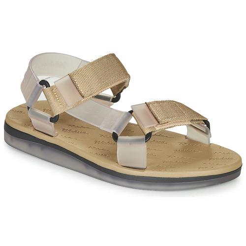 Shoes Women Sandals Melissa RIDER PAPETE Gold