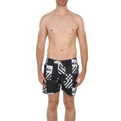 Clothing Men Trunks / Swim shorts Quiksilver ATOMIC 16 BS Black / White