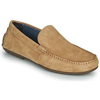 Shoes Men Loafers André BIOUTY Beige
