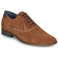 Shoes Men Brogues André WALACE Cognac