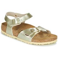 Shoes Girl Sandals Birkenstock RIO Gold
