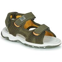 Shoes Boy Sandals André PIETRO Kaki