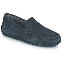 Shoes Boy Loafers André MANU Grey