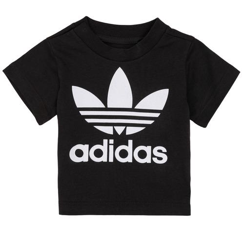 Clothing Children Short-sleeved t-shirts adidas Originals MARGOT Black