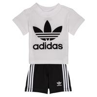 Clothing Boy Sets & Outfits adidas Originals CAROLINE White / Black