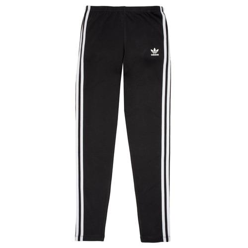 Clothing Girl Leggings adidas Originals BRIDGER Black