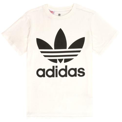 Clothing Children Short-sleeved t-shirts adidas Originals SARAH White