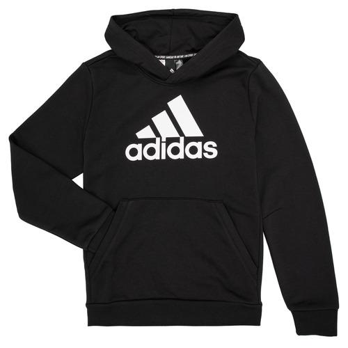 Clothing Boy Sweaters adidas Performance MANEZ Black