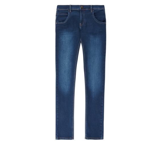 Clothing Boy Slim jeans Name it NITTAX Blue