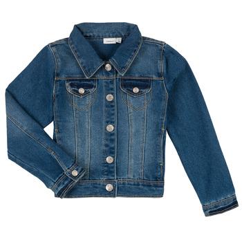 Clothing Boy Denim jackets Name it NITSTAR RIKA Blue
