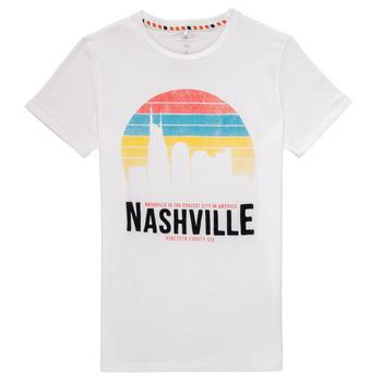 Clothing Boy Short-sleeved t-shirts Name it NKMDPOPS White