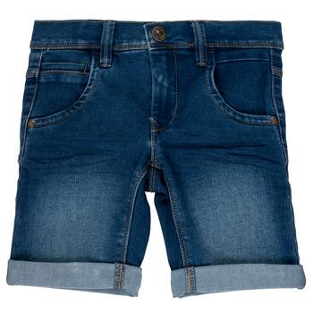 Clothing Boy Shorts / Bermudas Name it NKMSOFUS Blue