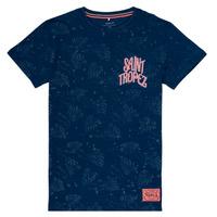 Clothing Girl Short-sleeved t-shirts Name it NKMFARRAN Marine