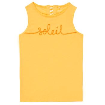 Clothing Girl Tops / Sleeveless T-shirts Name it NKFFAMILA Yellow