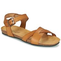 Shoes Women Sandals André BREHAT Camel