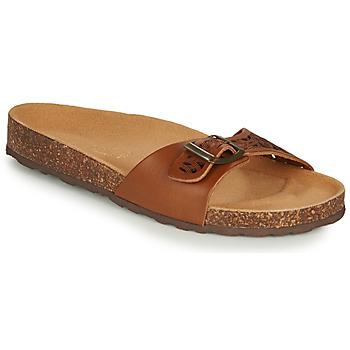 Shoes Women Sandals André BRIONI Camel