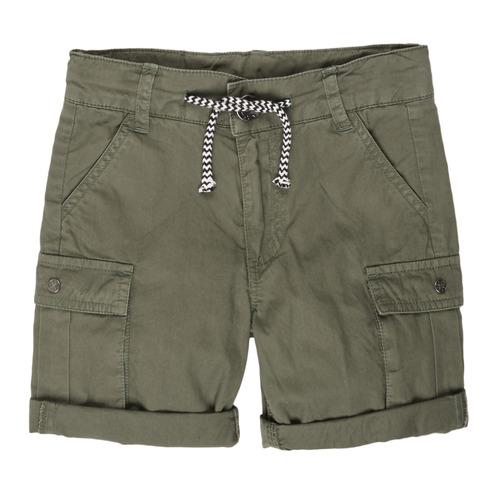 Clothing Boy Shorts / Bermudas 3 Pommes LEA Kaki