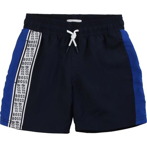 Clothing Boy Shorts / Bermudas BOSS MOZEL Blue