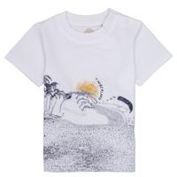 Clothing Boy Short-sleeved t-shirts Timberland ANTONIN White