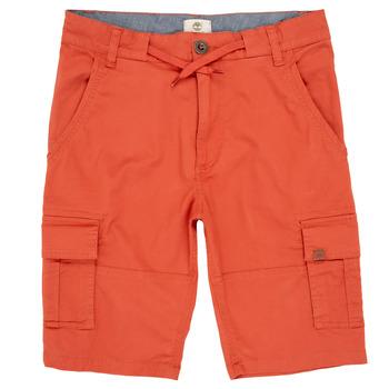 Clothing Boy Shorts / Bermudas Timberland STANISLAS Red