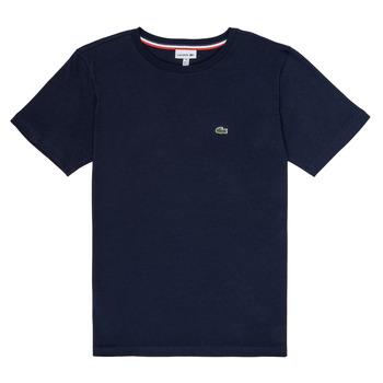 Clothing Boy Short-sleeved t-shirts Lacoste JOSEPHE Marine