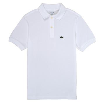 Clothing Boy short-sleeved polo shirts Lacoste MARISE White