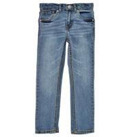 Clothing Boy Skinny jeans Levi's 511 SKINNY FIT Blue / Medium