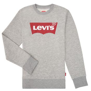 Clothing Boy Sweaters Levi's BATWING CREWNECK Grey