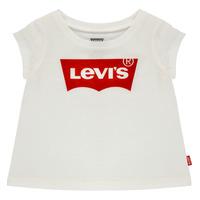 Clothing Girl Short-sleeved t-shirts Levi's BATWING TEE White