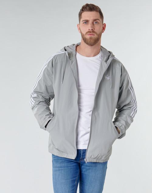 Clothing Men Sweaters adidas Originals OUTLINE TRF WB Grey