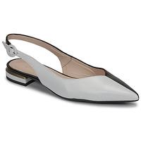 Shoes Women Flat shoes Fericelli MANU Black / Et / White